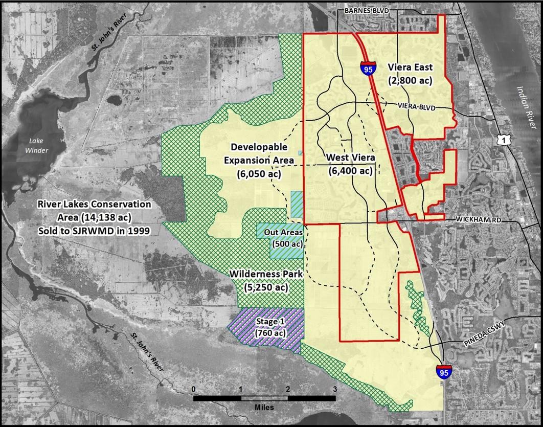 Viera Wilderness Park  Central Viera Community Association CVCA - Florida map viera