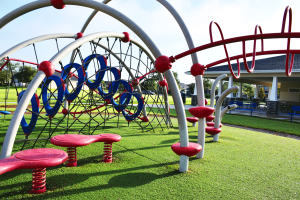 CVCA playground climbing structure