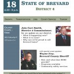 2018 Viera Community State of Brevard infographic